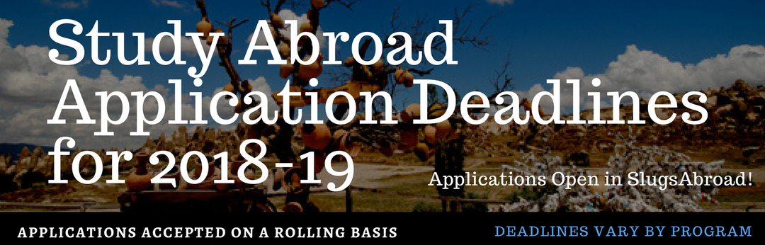 Due Dates | UCSB Education Abroad Program